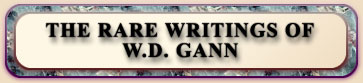 The Rare Writings of W.D. Gann